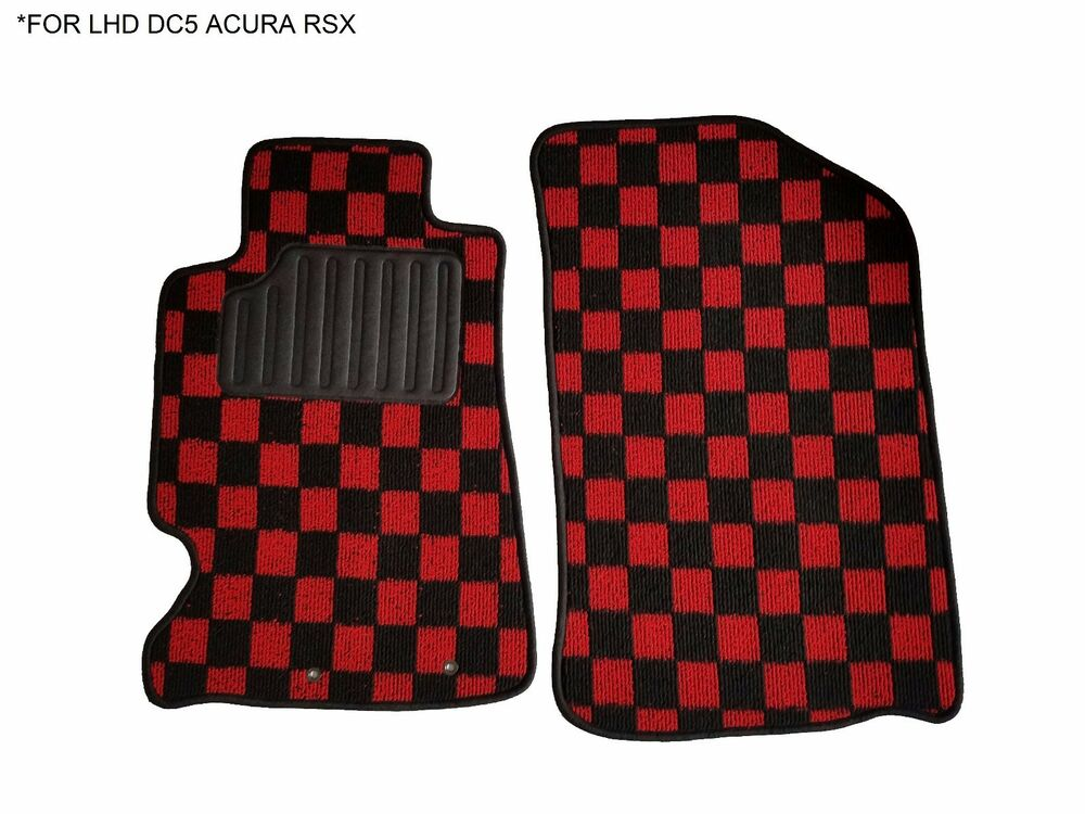 02 06 Jdm Fabric Custom Fit Acura Rsx Dc5 Floor Mats