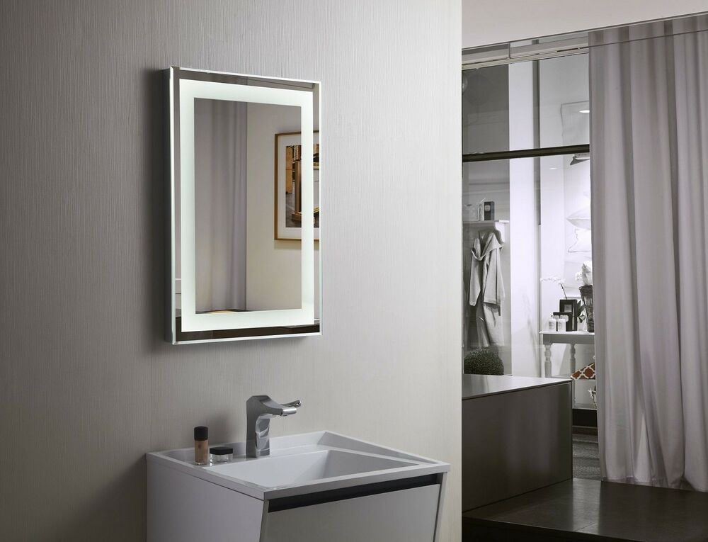 Bathroom Mirror Led Backlit Mirror Illuminated Led