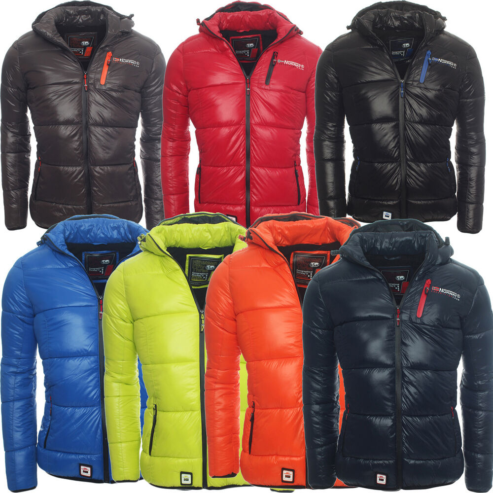 geographical norway warme gef tterte herren winterjacke outdoor winter jacke wow ebay. Black Bedroom Furniture Sets. Home Design Ideas