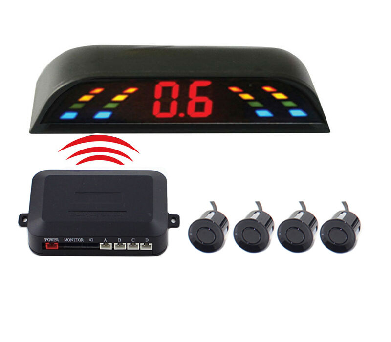 wireless car notfication system Pz314-w 25-inch lcd wireless car parking sensor backup reverse rear view radar alert alarm system with 4 sensorstvc-mall online wholesale store features 100,000.
