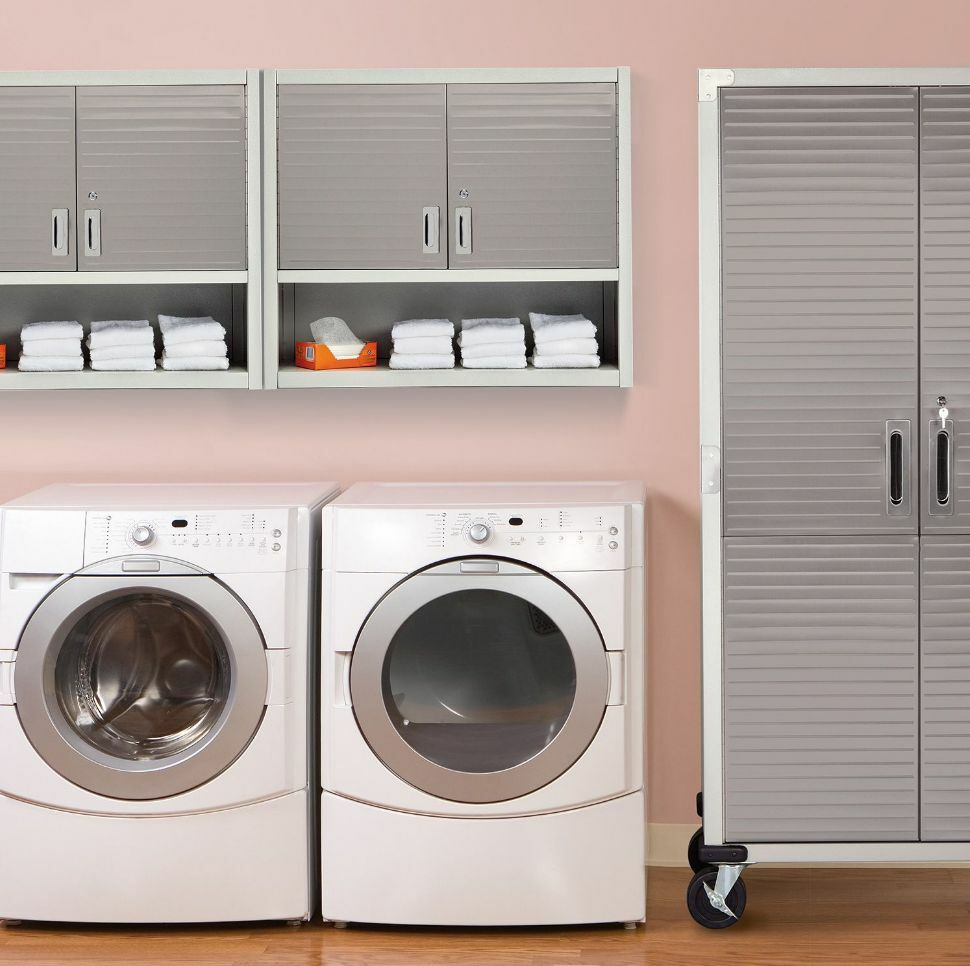 Laundry Room Wall Cabinets Tda Decorating And Design Laundry Room Custom Cabinet Reveal Wall