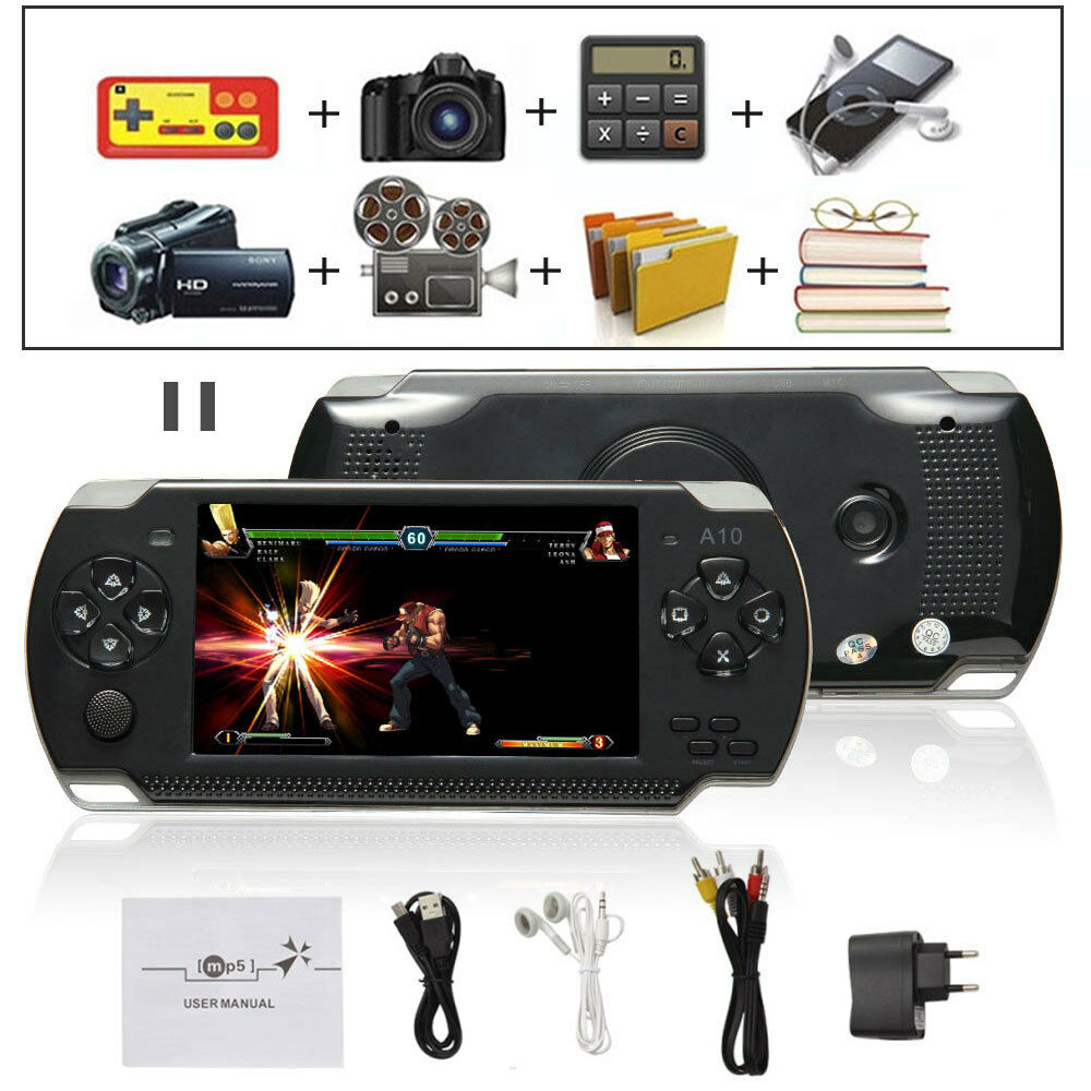 Us 4 3 Inch 32bit Portable Handheld Video Game Console Psp