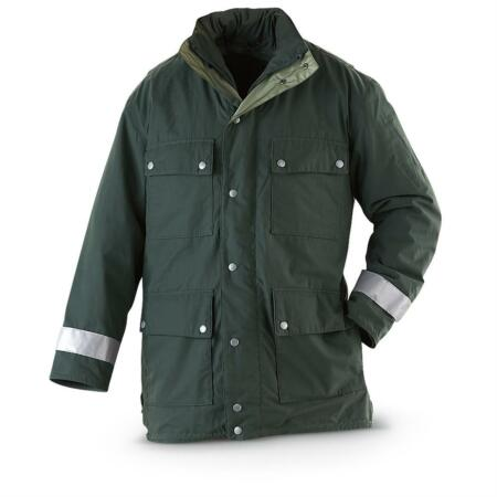 img-Genuine German Police Issued Gore Tex Winter Polar Fleece Lined Parka Grade 1