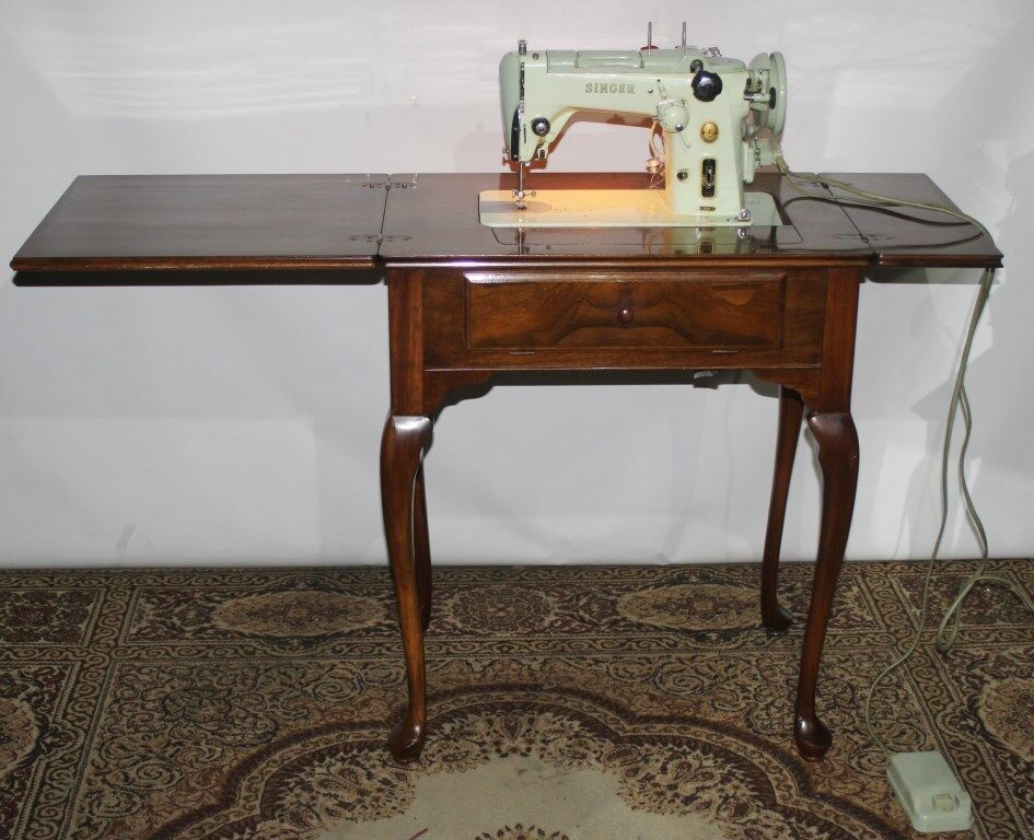 singer sewing machine with cabinet 50s vintage singer 319k sewing machine in burr walnut 26150