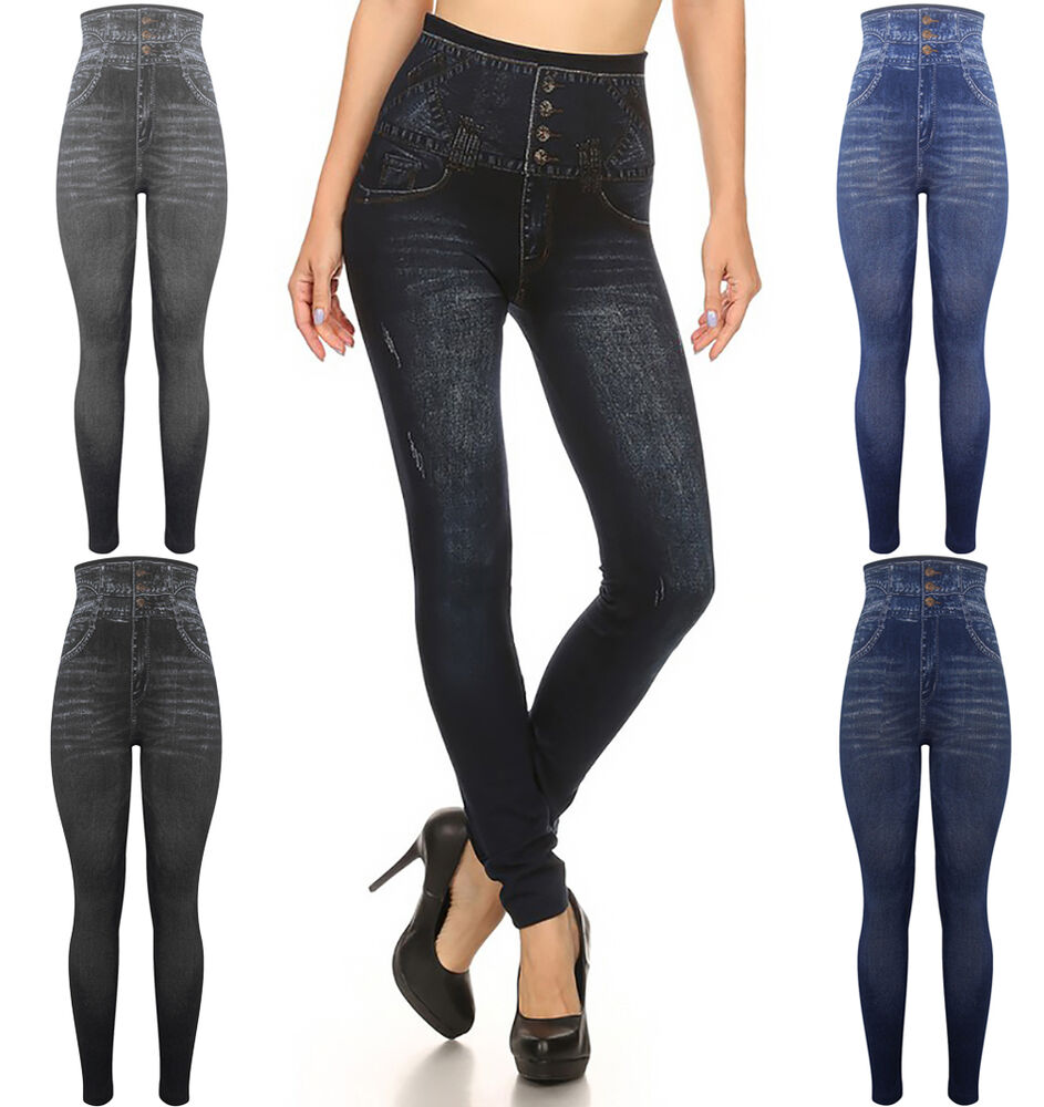 57, results for high waisted leggings Womens Ladies High Waisted Blue Skinny Jeans Stretch Denim Jeggings Size 6 - £ to £ 53+ Sold. Women Yoga Leggings Fitness Sports Gym Exercise Running Jogging Pants Trouser UK. £ to £ Free Postage.