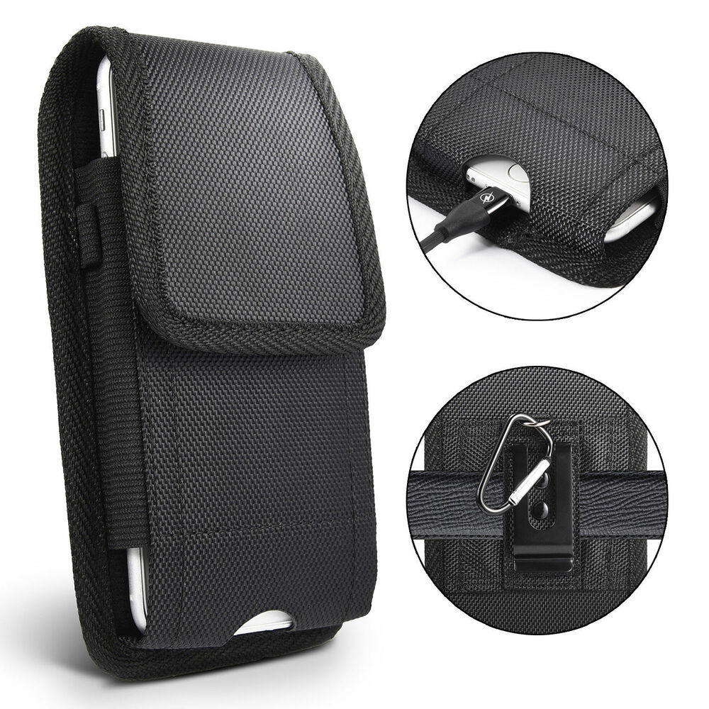 Belt Clip Vertical Holster Pouch Carrying Case Cover For