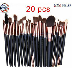 Kyпить 20pcs Makeup BRUSHES Kit Set Powder Foundation Eyeshadow Eyeliner Lip Brush NEW на еВаy.соm