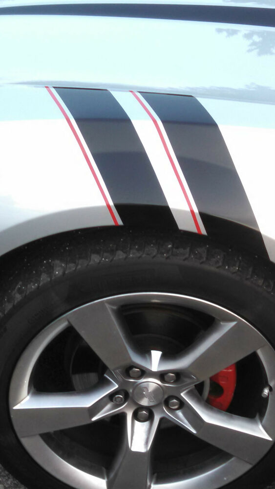 Grand Sport Fender Hash Mark Stripe Stripes Fit 2010 11 12