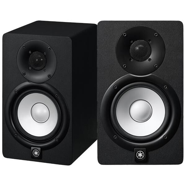 yamaha hs5 powered studio monitor pair brand new ebay