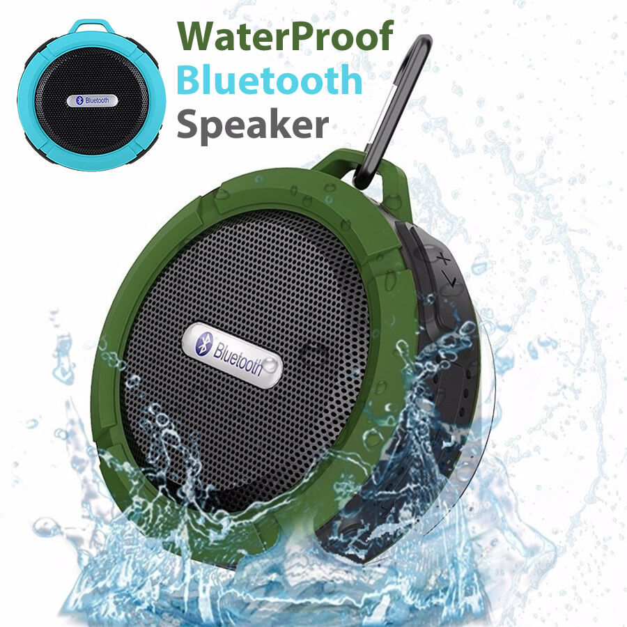 Waterproof bluetooth speakers wireless car mic handsfree - Waterproof sound system for bathroom ...