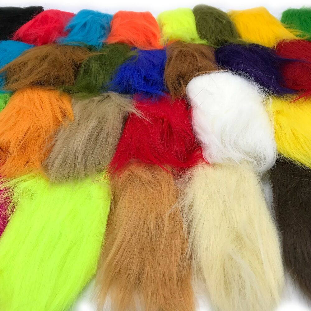 Craft Fur Fly Tying Material