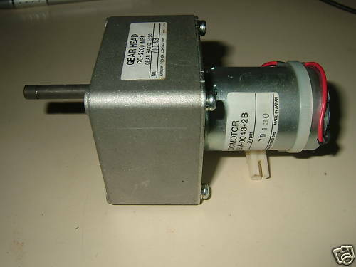 Gear head dc 24v at 20 rpm 12v at 10 rpm motor ebay for 20 rpm electric motor