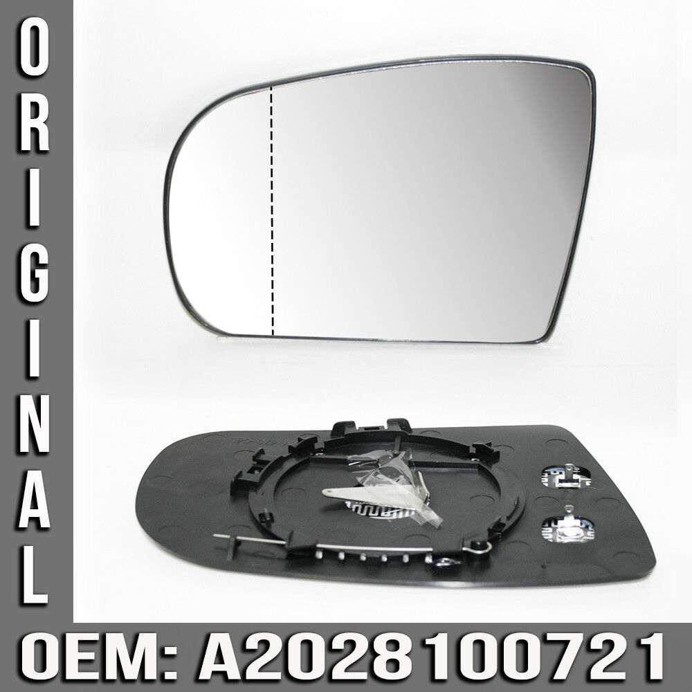 Mirror glass ls replacement exterior heated for mercedes e for Mercedes benz c300 windshield replacement