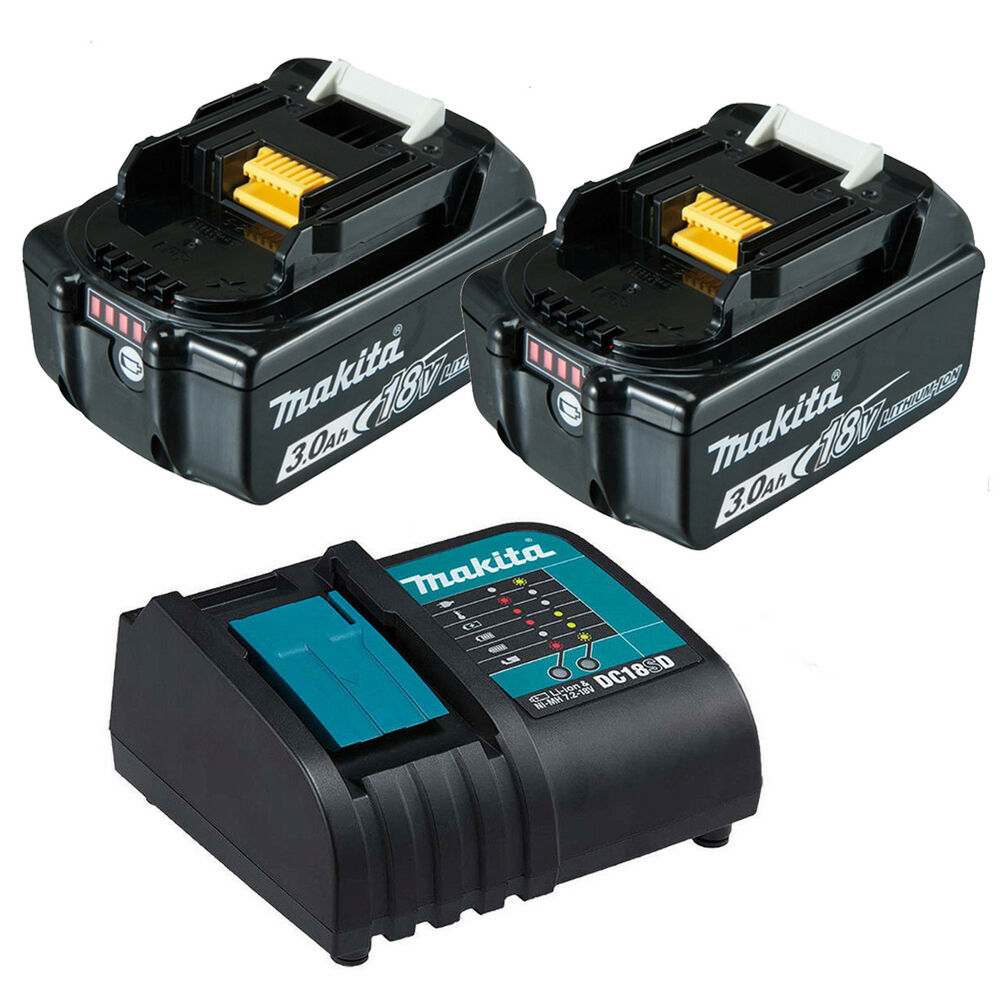 Makita 18v lxt li ion 3 0ah battery charger combo kit - Batterie makita 18v ...