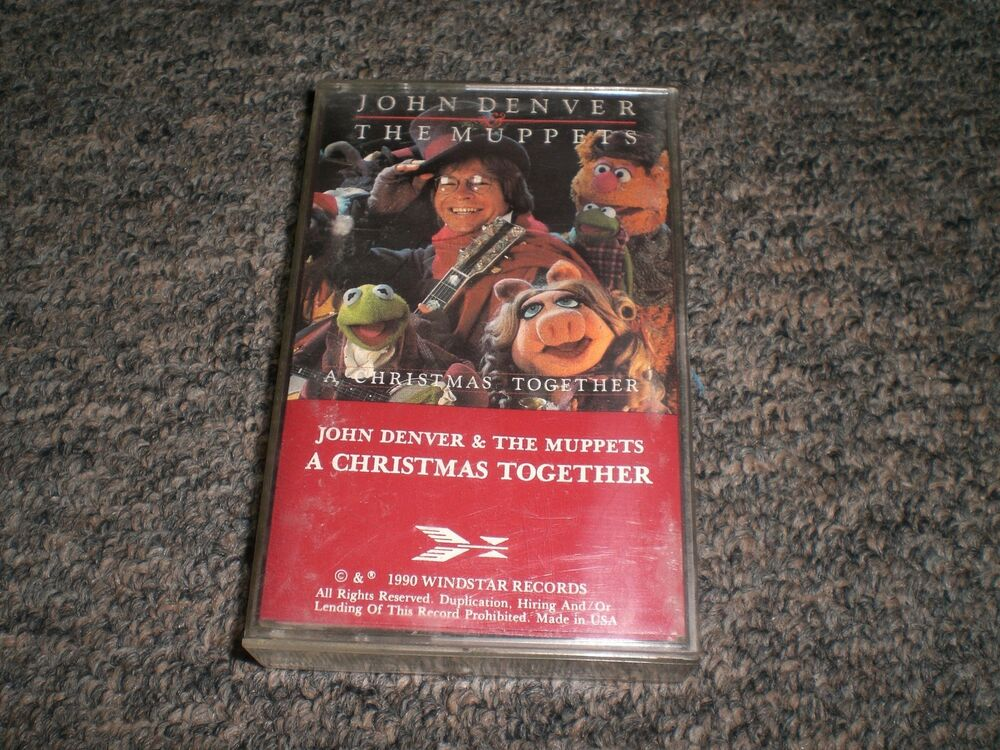 John Denver~The Muppets~A Christmas Together~Holiday Cassette~FAST ...