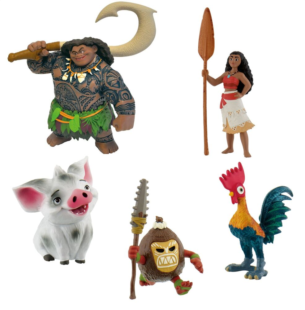 Cake Decor Figurines : Bullyland Disney Moana / Vaiana Figures Figurines Toys ...