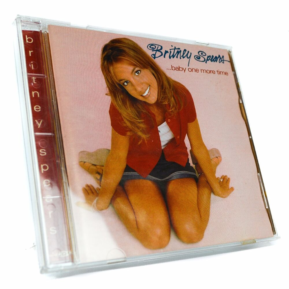Britney Spears Baby One More Time Music Cd: ...Baby One More Time By Britney Spears (CD, Jan-1999, BMG