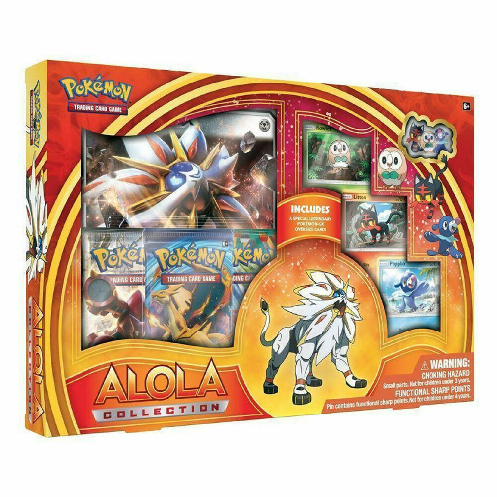 Pokemon Solgaleo GX Alola Collection Box: Booster Packs