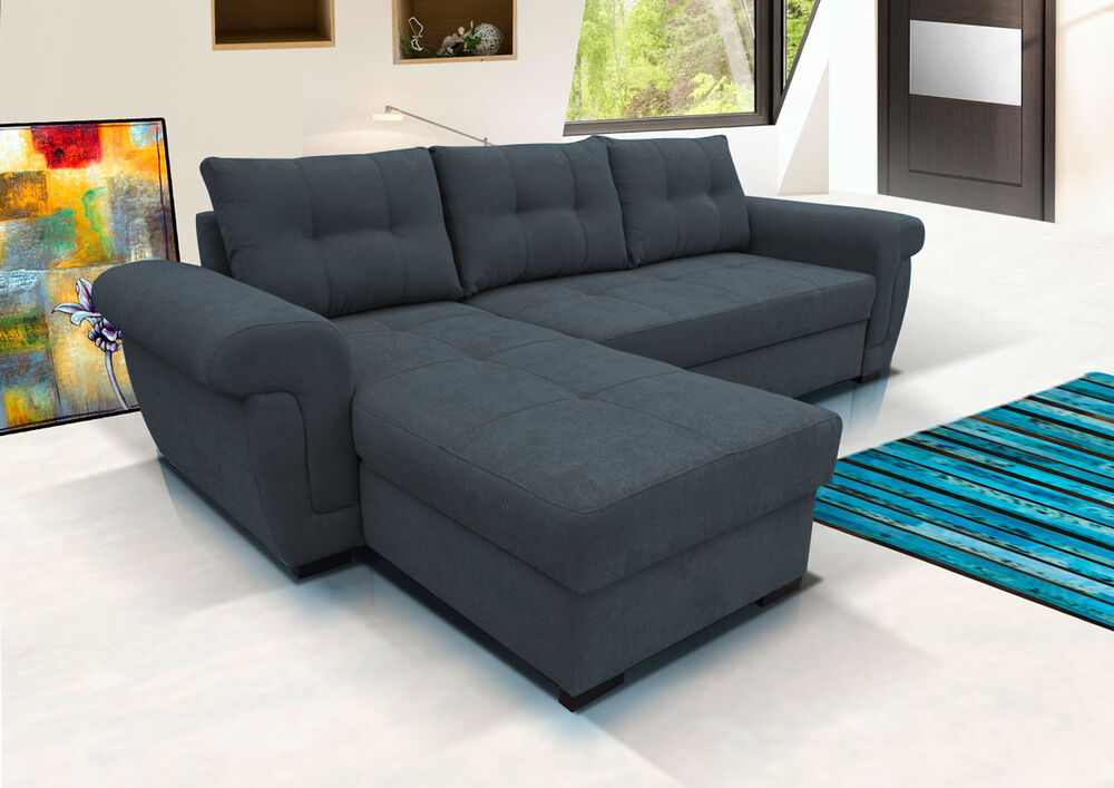 Corner/Sectional Sofa Beds | eBay