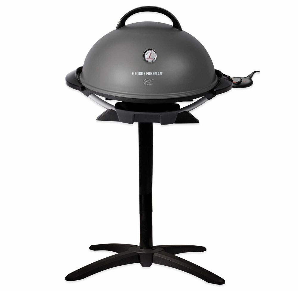 George Forman Electric Indoor ~ George foreman indoor outdoor serving electric grill