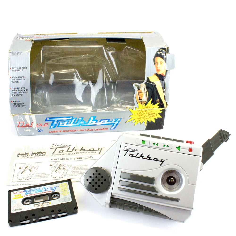 Tiger Electronic Toys Guide And Troubleshooting Of Wiring Diagram Little Tikes Harness Vintage 1993 Home Alone 2 Deluxe Talkboy By Electronics Furby Plush Toy