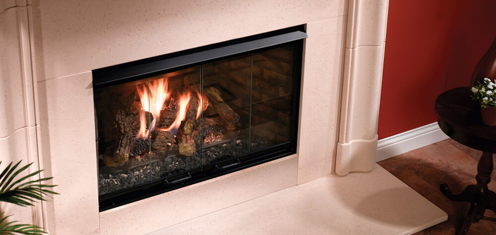 Majestic Reveal Rbv4236it 36 Quot B Vent Gas Fireplace Full