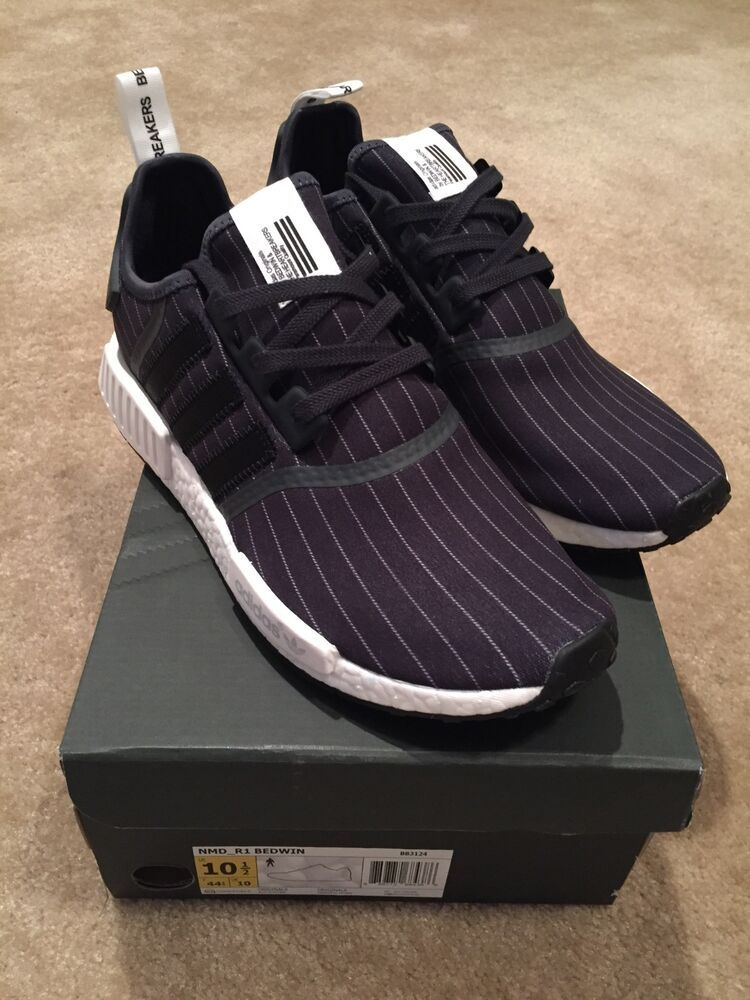 a28908fc9 Details about Adidas NMD R1 Bedwin   The Heartbreakers Black 11 Mens BB3124  Authentic yeezy