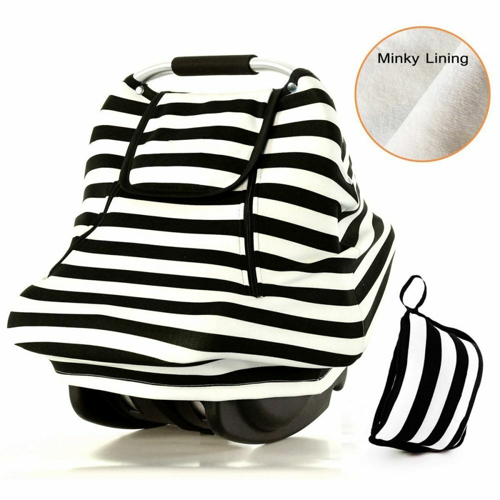 Stretchy Baby Car Seat Covers For Boys Girls Winter Infant