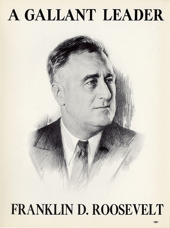 the political campaigns of franklin d roosevelt Americans celebrate franklin d roosevelt as the president who led them out of the great depression of the 1930s and through the greatest global conflict in history.