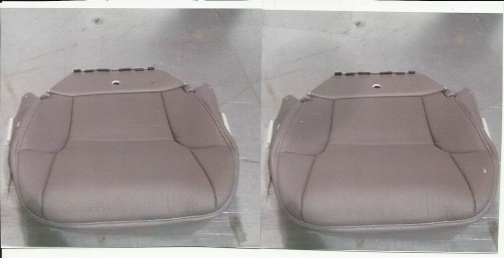 2007 Two Leather Seatcover Bottoms Toyota 4runner Gray L H