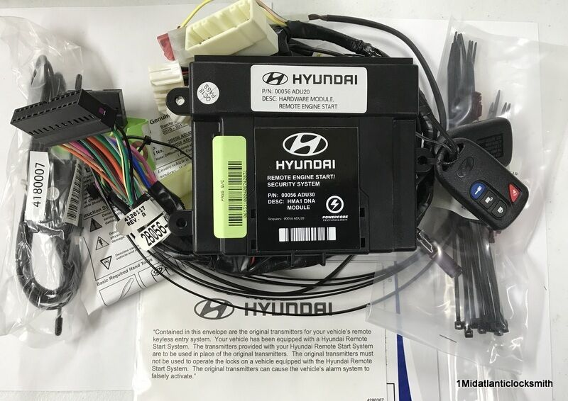 Buy Hyundai 2b056adu00 Remote Start Kit For Hyundai Santa Fe Online