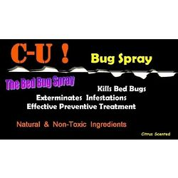 Kyпить Say Bye-Bye to Bed Bugs SAFELY NonTox Killer Spray CUbugspray *CONC. for 0.5 GAL на еВаy.соm
