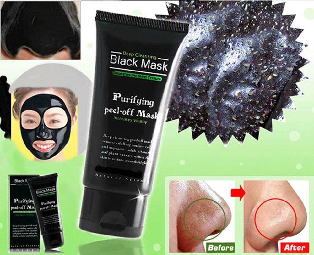 deep cleansing black mask purifying peel