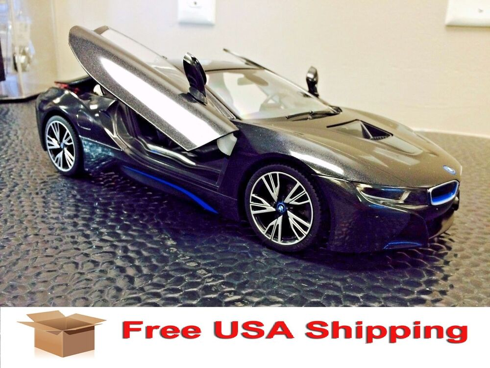 bmw i8 remote control rc car free shipping ebay. Black Bedroom Furniture Sets. Home Design Ideas