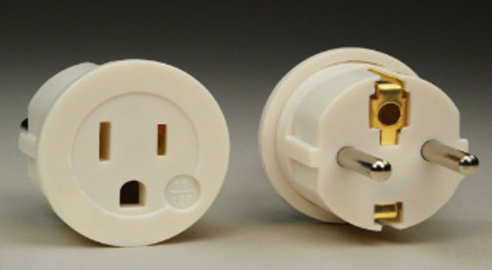 Plug Adapter European Asian Schuko Plug Adapter Usa To