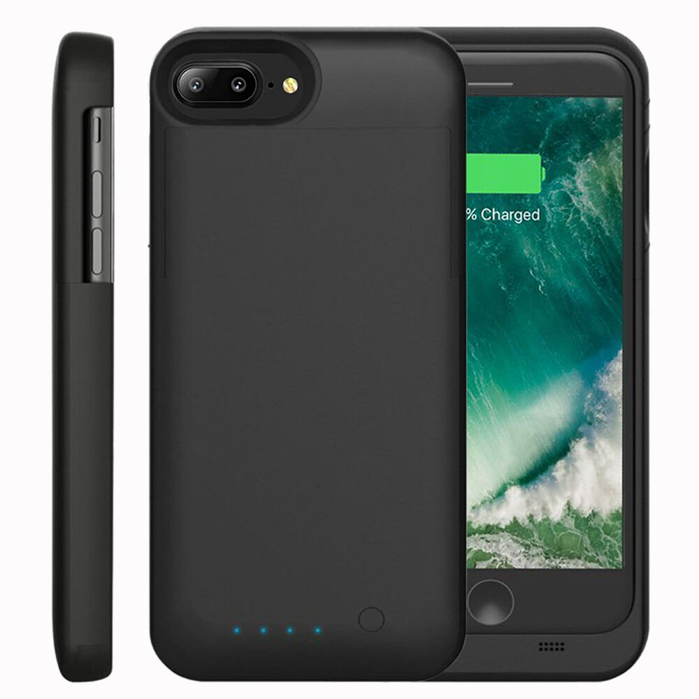 iphone 7 7plus battery case mfi portable charger extended battery power cover ebay. Black Bedroom Furniture Sets. Home Design Ideas