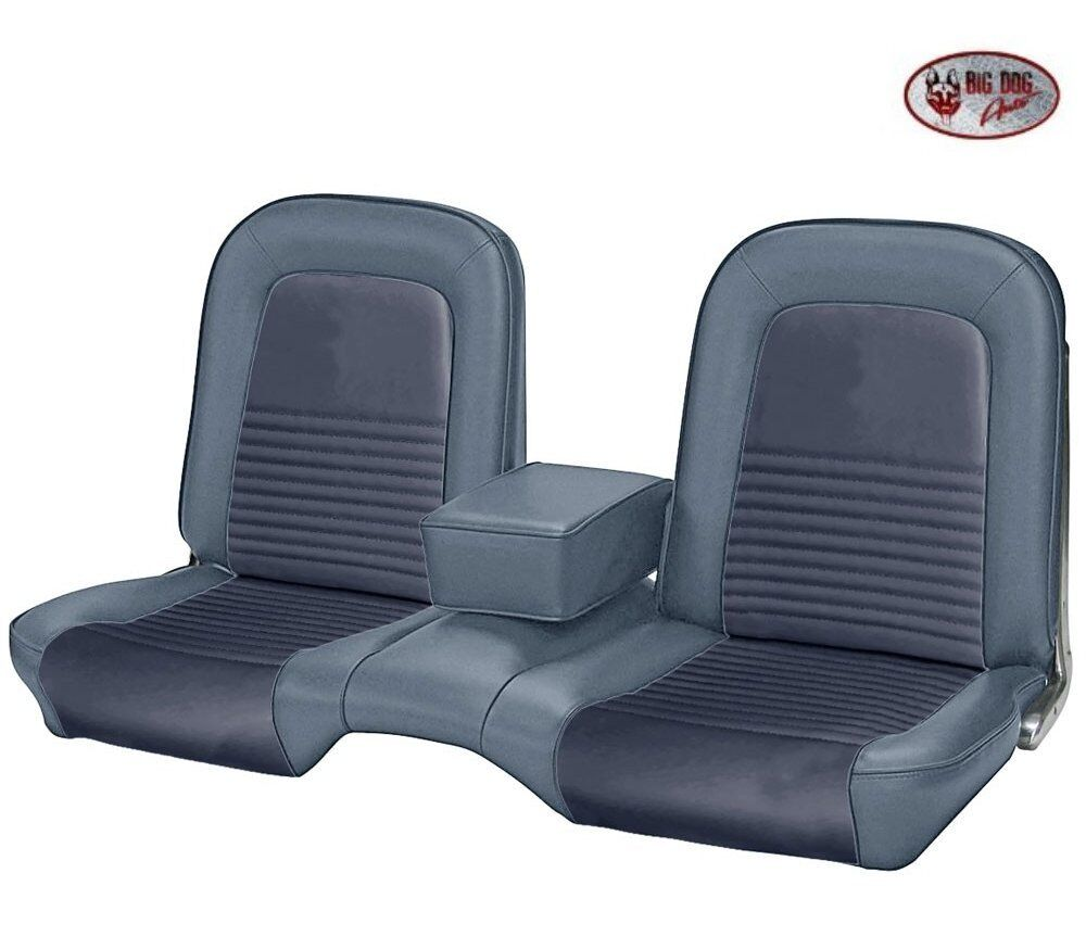 1967 Mustang Fastback Front Amp Rear Bench Seat Upholstery