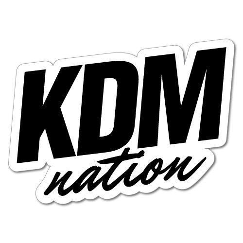 Kdm Nation Sticker Decal Vinyl For Hyundai Kia 7124hp Ebay