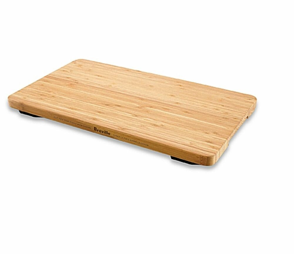 Breville Bamboo Chopping Cutting Board Countertop Butcher