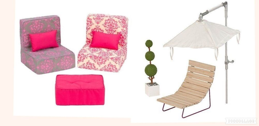 new our generation doll home living room sofa set patio