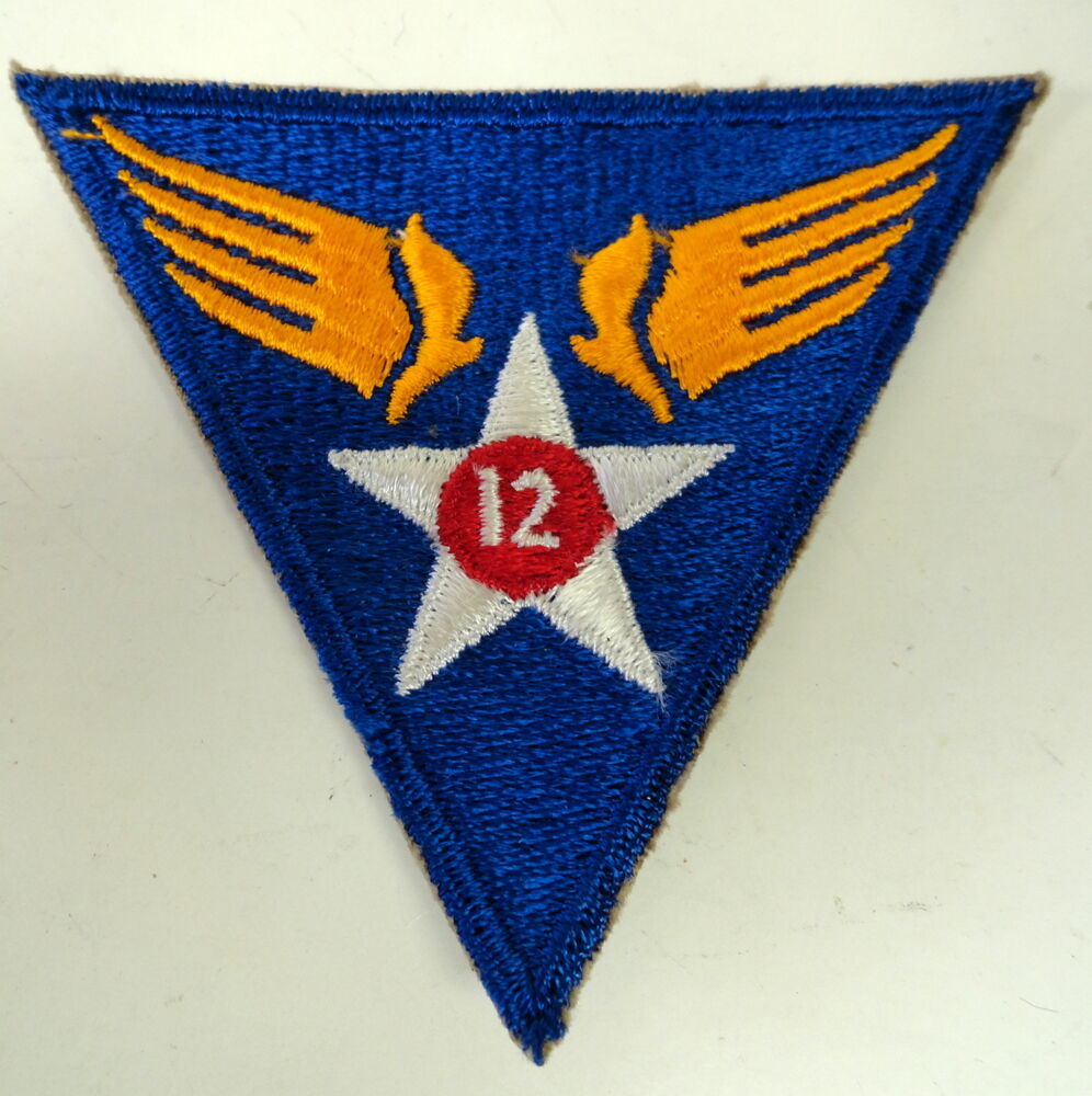 12th air force patch eBay