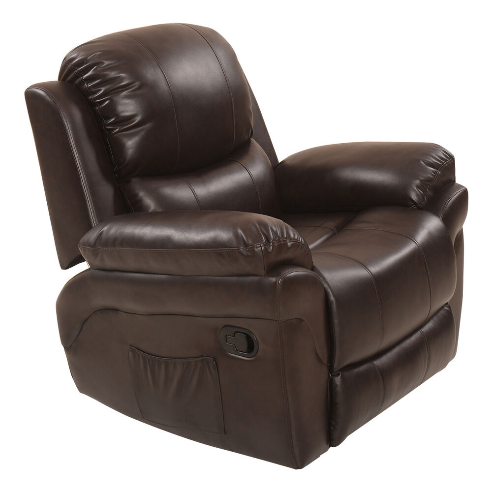 Massage Sofa Recliner Chair Rocking Lounge Heated Swivel Ergonomic w Control