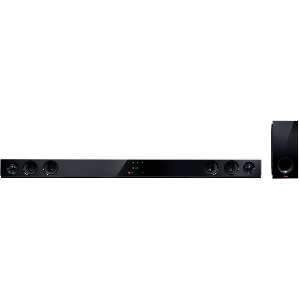 lg nb3530a 300w 2 1 channel sound bar with wireless subwoofer ebay. Black Bedroom Furniture Sets. Home Design Ideas