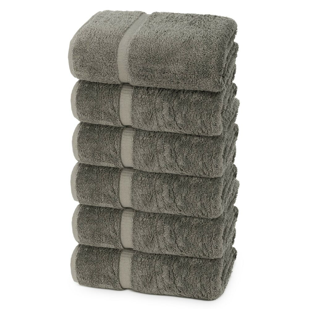 Luxury Hotel & Spa Towel 100% Cotton Hand Towels -NEW -Set