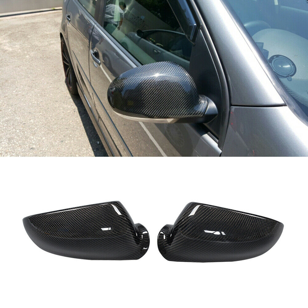 Carbon Fiber Auto Side Replacement Mirror Cover Fit For Vw