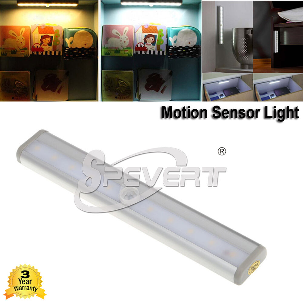 120°Human Body Automatic PIR Motion Sensor LED Night Light