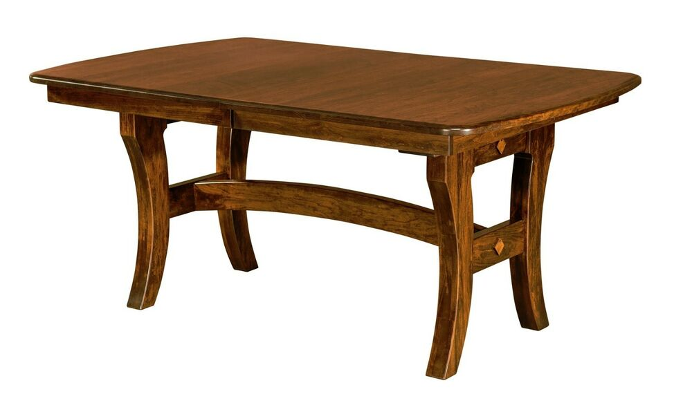 Casual Wood Kitchen Table