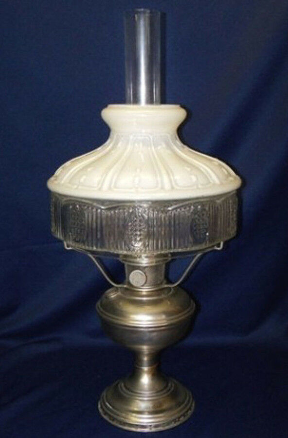 Vintage Aladdin Oil Lamp Number 11 Original Shade No 501