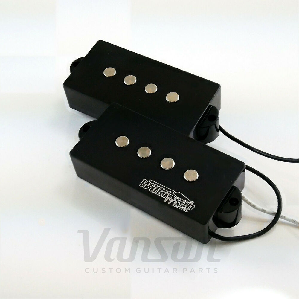 new wilkinson mwpb bass guitar pickups for 39 pb 39 type guitars precision ebay. Black Bedroom Furniture Sets. Home Design Ideas