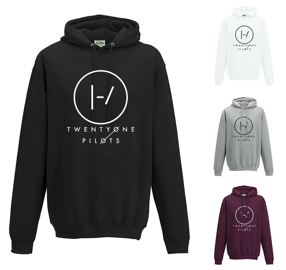 twenty one pilots b hoodie jh001 band logo jumper top. Black Bedroom Furniture Sets. Home Design Ideas